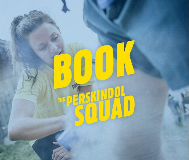 Buchen Sie Perskindol Squad für Ihren Sportevent