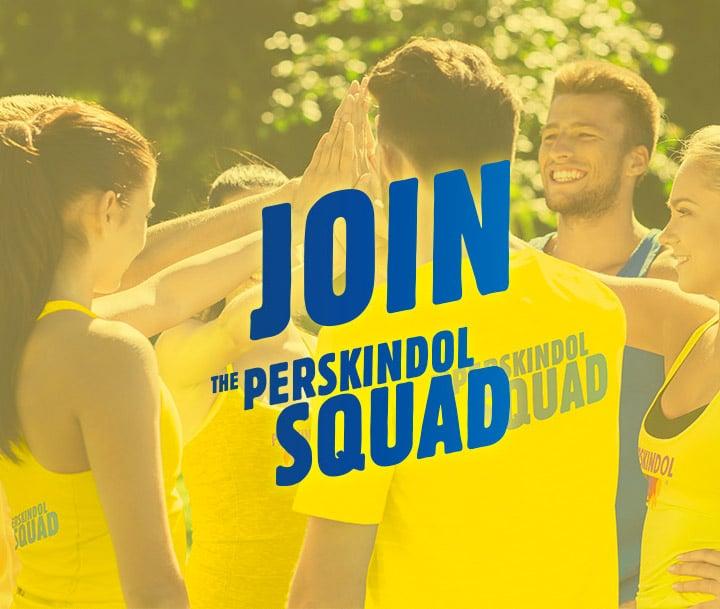 Werden Sie Mitglied des Perskindol-Sportsquads